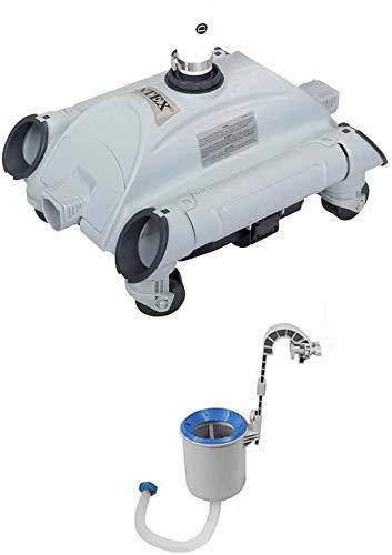 Oferta robot limpiador de fondos para piscina + skimmer Intex 28001