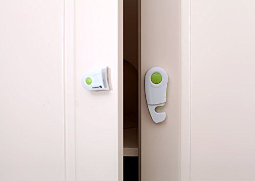Baby Cabinet Lock Lock Cabinet Verrouillage de sécurité Baby Lock Lock Cabinet Lock Lock Lock (1 Set 2 Pcs)