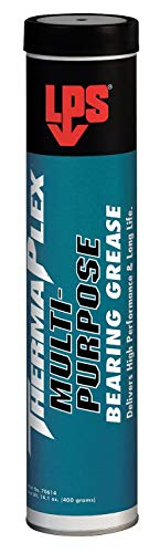 LPS ThermaPlex Blue Lithium Complex Multipurpose Bearing Grease, 14.1 oz, NLGI Grade: 2- Pack of 5