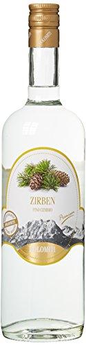 DOLOMITI Zirben-Schnaps Premium Spirituose 40% vol. | Original Zirbenschnaps | 1 x 1 Liter