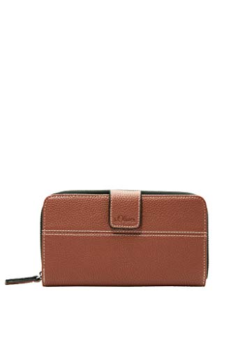 s.Oliver (Bags Damen 201.10.003.30.282.2037596 Portemonnaie, 8765 Brown, one Size