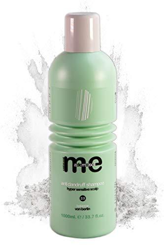 MeMademoiselle Anti Dandruff Shampoo I Pflege u. Aufbau Keratin Shampoo mit Pirocton-Olamin I Haarpflege für empfindliche Kopfhaut Made in Germany I Anti Schuppen Shampoo Männer & Frauen (1000 ml)