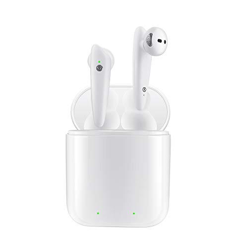 Wireless Bluetooth Earbuds;SquRod TWS i12 Wireless Headsets Touch Bluetooth 5.0 Infrared Sensor Original Hi-Fi Sound Mini Earphone w/Charger Box 30Hrs Auto Pairing for iPad Air iPod iPhone Android OS