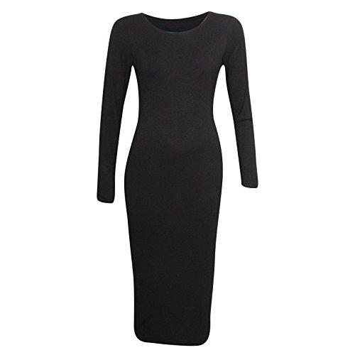 Miss Sixty- Vestido ajustado para mujer negro 38