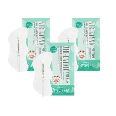 23 Years Old Air Laynic Pore Mask PAck 5Pcs Deep Pore Tightening Premium Home Care