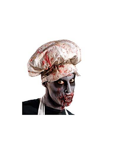 DISBACANAL Gorro de Cocinero Zombie