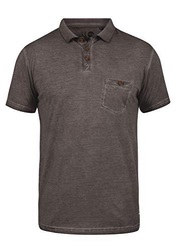 !Solid Termann Camiseta Polo De Manga Corta para Hombre con Cuello De Polo De 100% Algodón