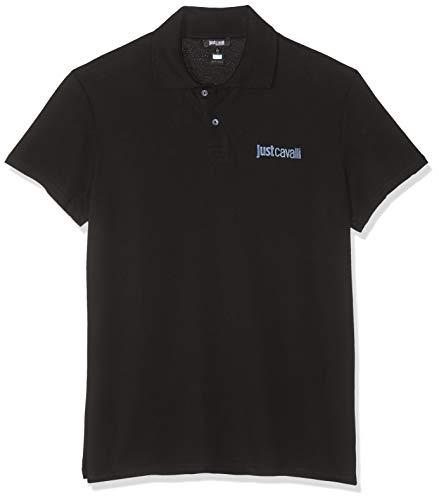 Just Cavalli Beachwear Poloshirt B47 schwarz DE 50