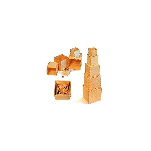 Grimms Spiel Und Holz Design Grimms Kleiner Kistensatz natur - 2