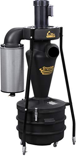 1.5 HP / 110V Mini-Gorilla Portable Cyclone Dust Collector with U.S. Motor, Premium HEPA Filter,...