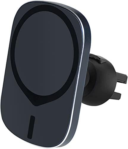 Cargador de coche inalámbrico magnético Monte fuerte magnético de carga inalámbrica 15W Carga inalámbrica Automizamiento automático para i-Phone 12 Mini / I Teléfono 12 / I Teléfono 12 Pro / I-Phone 1
