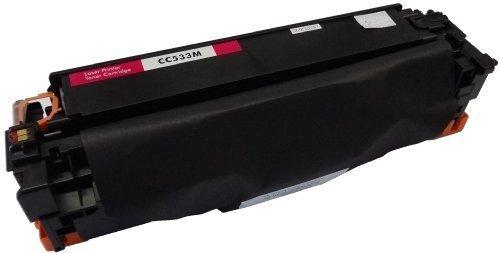 Bubprint Toner kompatibel für HP CC533A 304A für Color Laserjet CM2320FXI CM2320NF CM2320N MFP CP2020 CP2025 CP2025N CP2025DN 2800 Seiten Magenta