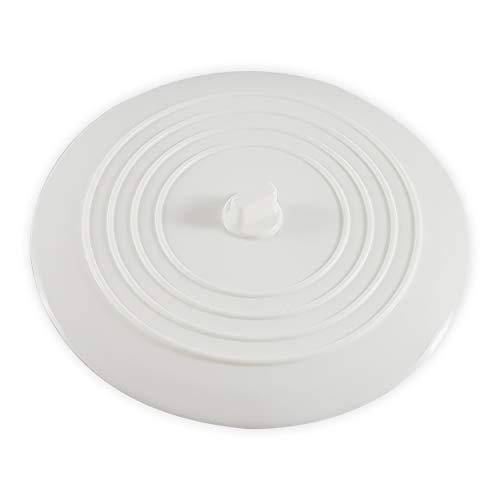 CZ Store Tapón de Drenaje de Silicona - 15cm - ✮GARANTÍA DE POR VIDA✮ - Ventosa Flexible, Tapa Universal Impermeable - Fregadero de Cocina de Acero Inoxidable, Bañera, Inodoro, Lavabo, Ducha