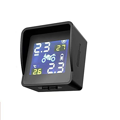 Sistema de Control de presión de Llantas Energía Solar automática,Sistema de monitoreo de presión de neumáticos de automóviles