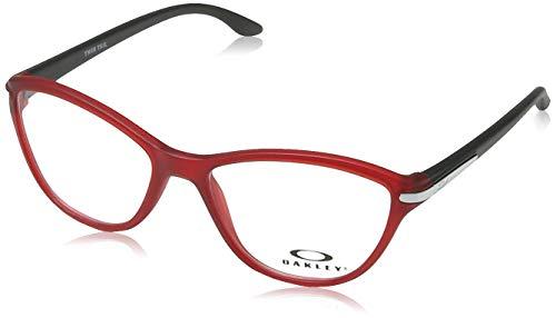 Oakley 0OY8008 Monturas de Gafas, Satin Red, 48 para Mujer