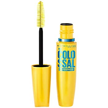 Maybelline New York Volume Express The Colossal Waterproof Mascara, Glam Black, 0.27 fl. oz.