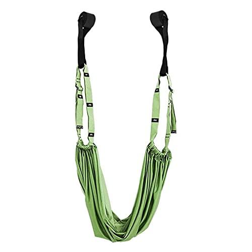 Hamaca de Yoga Banda de Estiramiento de Estiramiento Cinturón de Entrenamiento Ajustable Cinturones de Yoga Back Bend Strap ASSISTA para EL CASA Yoga Fitness Ejercicio Ejercicio del Cuerpo del Cuerpo