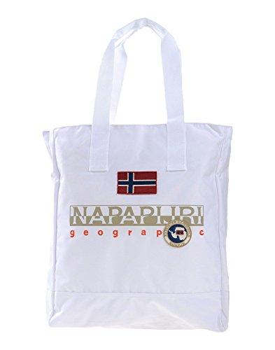 Napapijiri , Damen Tote-Tasche weiß bianco L, weiß - Bianco - Größe: L