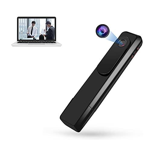 Mini Cámara Espía Oculta, HD 1080P Videocámara Video Audio Grabadora Portátil