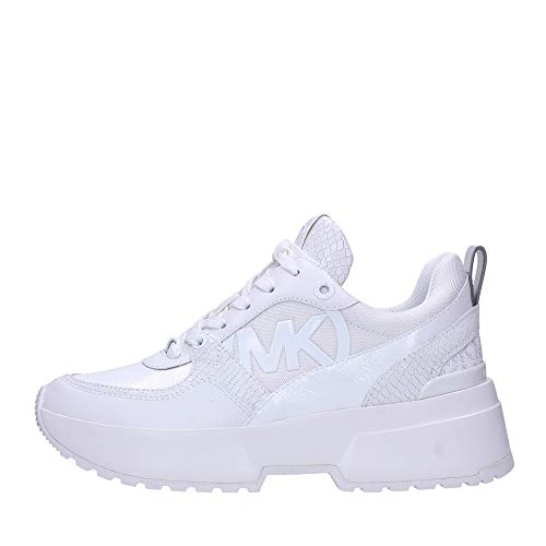 Michael Kors Sneaker Low Ballard Trainer Weiss Damen - 39 EU
