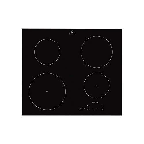 Electrolux–vitrocerámica de inducción KTI 6430y acabado en negro de 60cm.