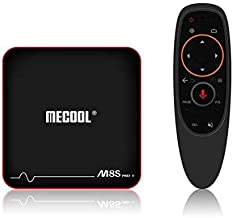 MECOOL M8S PRO W Android TV OS 2GB/16GB S905W 4K TV Box with Voice Control IPTV Support KODI 17.3 WIFI LAN H.265 HDR