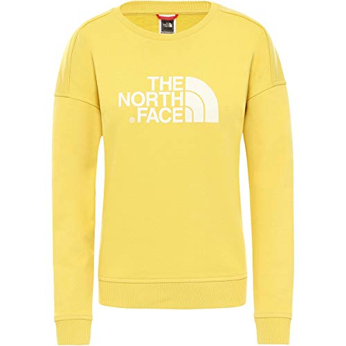 THE NORTH FACE dames W Drew Peak Crew-eu Tnf Black Sweatshirt