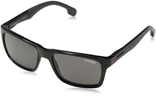 Carrera 8024/S M9 807 Gafas de sol, Negro (Black/Grey Pz), 55 Unisex-Adulto