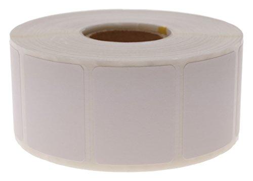 Cablematic PN20071610020174195 SD52 zelfklevende etiketten voor thermo-transferprinters, 31,75 x 25,4 mm, wit, 1200 stuks