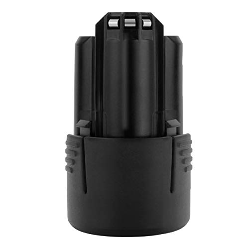 Exmate 10.8V and 12V 2.5Ah Li-ion Battery Compatible with Bosch BAT411 GBA12V30 BAT411A BAT412 BAT412A BAT413 BAT413A BAT414 Cordless Tools Battery