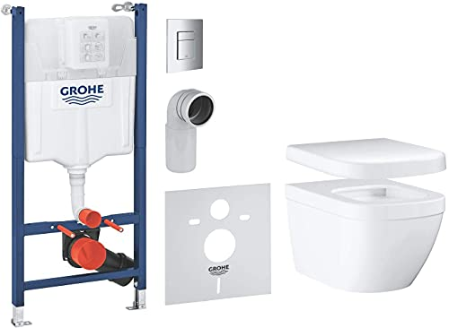 GROHE pack complet WC suspendu Solido Compact, bâti...