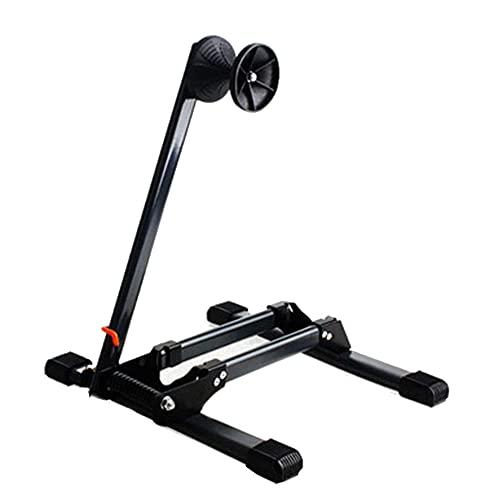 OUYA Inicio Soporte para Bicicleta Soporte, Soporte Plegable para Almacenamiento De Bicicletas, Soporte para Bicicleta Enchufable De Una Sola Barra, para Bici De Carretera,Negro