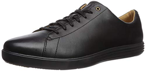 Cole Haan Men's Grand Crosscourt II Sneaker, black leather/black, 13 Medium US