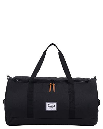 Herschel Sutton Duffel Bag, Black, Classic 46.5L