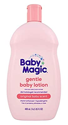 Baby Magic Gentle Baby Lotion Original Baby Scent 16.5 oz. by Baby Magic