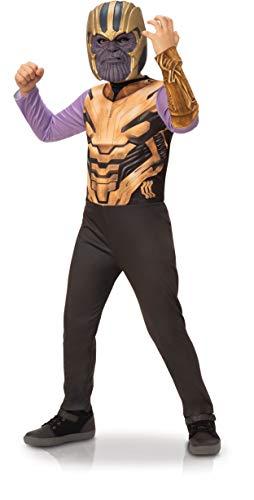 Rubies - Disfraz oficial de Thanos Avengers Endgame, talla 5-6 aos, I-701469M, para nios, unisex, I-701469M, multicolor