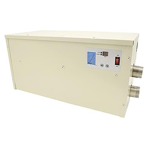 TGHY 5,5kW 11kW 15kW Elektrischer Poolheizungen Thermostat 220V 380V Schwimmbadheizung Spa Elektrische Wassererwärmerpumpe Whirlpoolthermostat für Oberirdischen Einbaupool,11kw