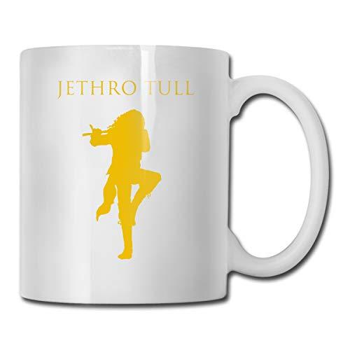 Jldoenh Udjgn Jethro Tull - Taza de cerámica (330 ml), diseño humanizado