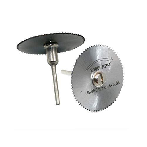 El corte de metal discos circulares rotativas Hojas de sierra taladro de bricolaje Herramientas de corte para el acero y madera de corte