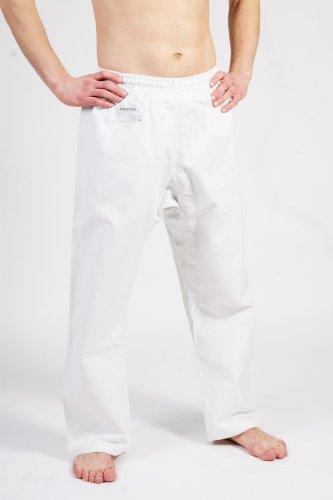 DEPICE Karatehose weiß 12 oz. mit Gummizug und Schnürung 170 cm