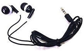 TFD Supplies Wholesale Bulk Earbuds Headphones 100 Pack for iPhone, Android, MP3 Player - Black