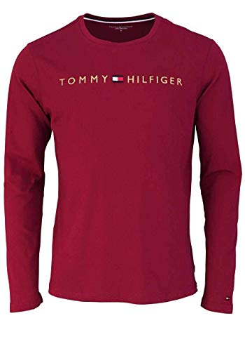Tommy Hilfiger heren thermo-ondergoed CN LS TEE LOGO GOLD