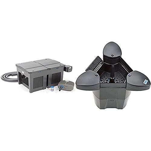OASE 56789 Durchlauffilter BioSmart Set 36000   Durchlauffilterset   Filterset   Filter   Filtersystem   Filterkomplettset & 57384 SwimSkim 25