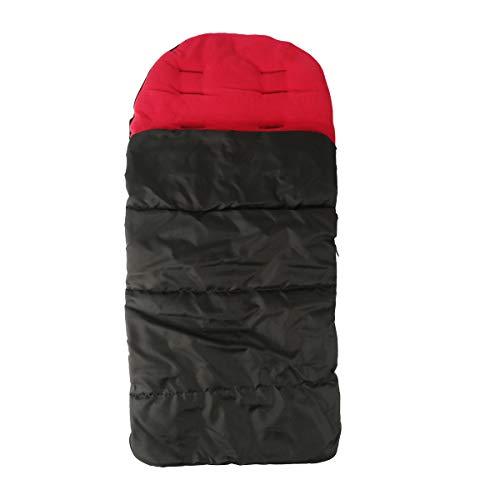 NCONCO Saco de dormir universal 3 en 1 para cochecito de bebé, resistente al viento, cálido, saco de dormir para bebé para asiento de coche, 4 colores
