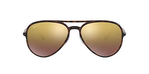 Ray-Ban 0RB4320CH Gafas de sol, Havana, 57 Unisex