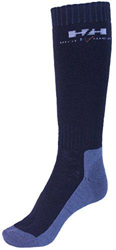 Helly Hansen Workwear 2 Paar Arbeitssocken Lahti Extreme, robuste Socken für Handwerker, Industrie Gr. 36 - 39, schwarz, 75735