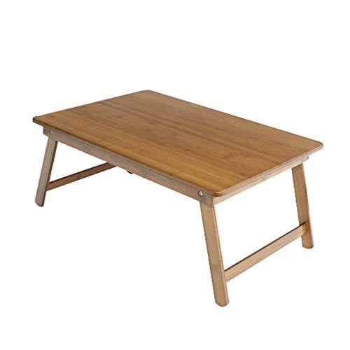 Tables Salon Petite Basse D'ordinateur Pliante Simple Petit Bureau Enfants Bureau d'apprentissage Pliant en Bambou Maison Balcon Fenêtre Fenêtre À Thé Basses