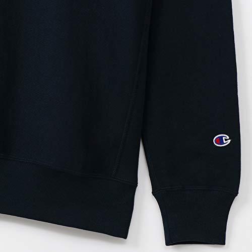 [チャンピオン]リバースウィーブクルーネックスウェットシャツC3-K001メンズネイビー日本XL(日本サイズXL相当)