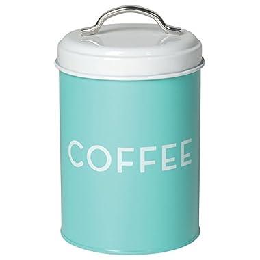 Now Designs Coffee Tin, Turquoise