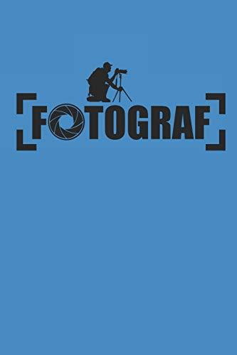 FOTOGRAF: NOTEBOOK Fotografie Notizbuch Photograph Photo Journal 6x9 lined
